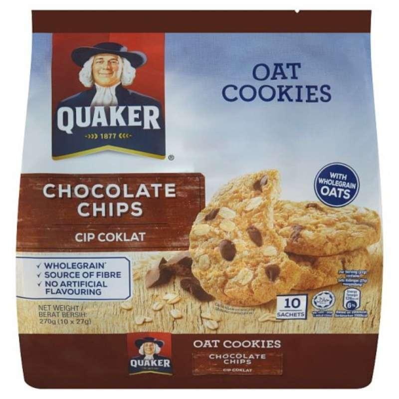 Jual Biskuit Quaker Oat Cookies 270gram Isi 10 Sachets Terenak Termurah Online Maret 2021 Blibli