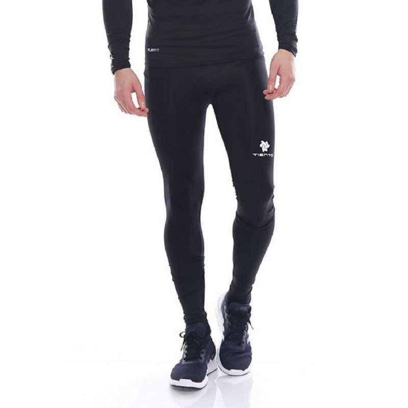 Jual Tiento Celana Olarahga Tight Legging Sport Long Pants Black White Pria Online Oktober 2020 Blibli Com
