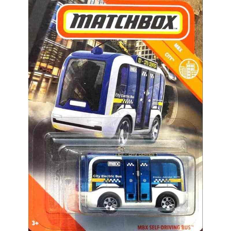 Jual Matchbox Mbx Self Driving Bus 2020 Biru Online November 2020 Blibli