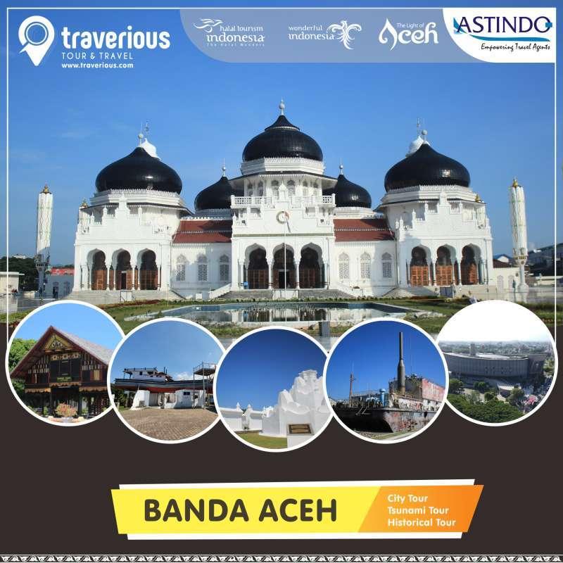 Banda Aceh Sabang 4 Hari 3 Malam Hotel 3 Traverious Tour Terbaru Agustus 2021 Harga Murah Kualitas Terjamin Blibli