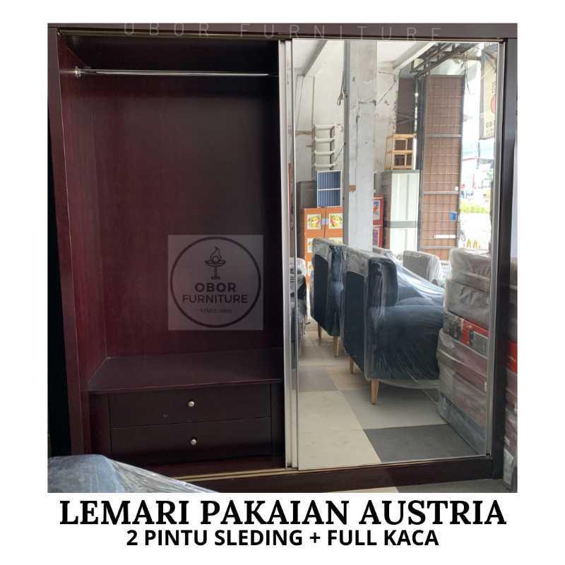 Jual Lemari Super Jumbo Pintu Sleeding Full Kaca List Alumunium Online April 2021 Blibli