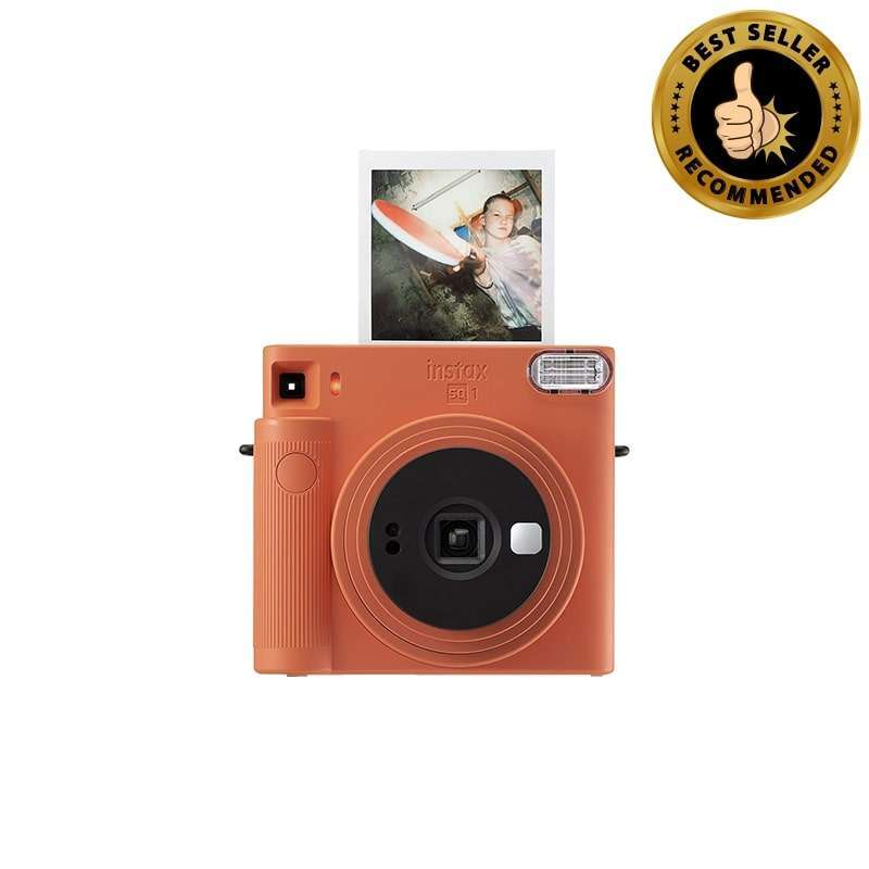 CAMERA CO ID FUJIFILM Instax SQ1 Free 1 Square White Single Palin Periode 4 31 JAN 2021 GARANSI RESMI