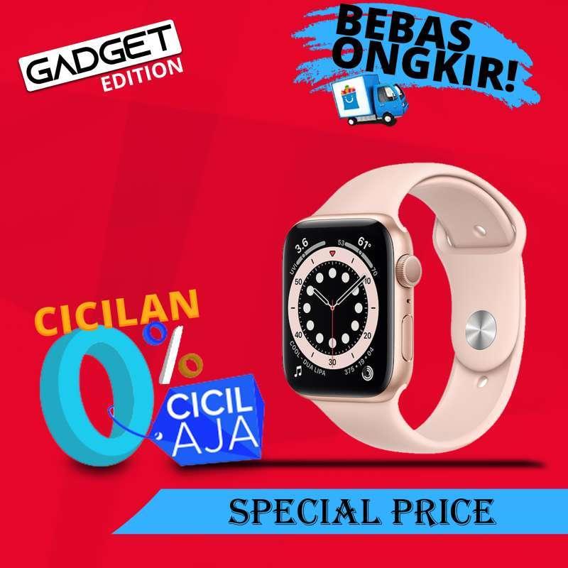 Jual Apple Watch Series 6 Gold Aluminum Case 44mm With Pink Sand Sport Band Gps New Bnib Garansi Apple Internasional 1 Tahun Online Desember 2020 Blibli