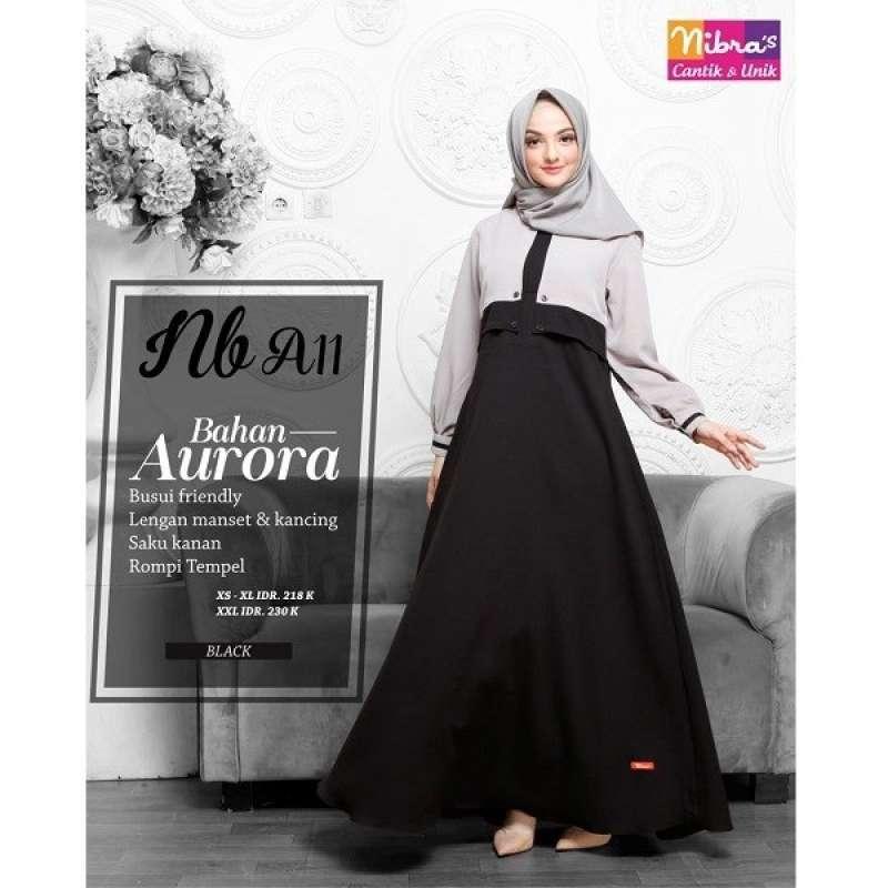 Jual Gamis Nibras Nb A11 Baju Gamis Wanita Dewasa Muslim Syari Murah Terbaru 2020 Online Februari 2021 Blibli