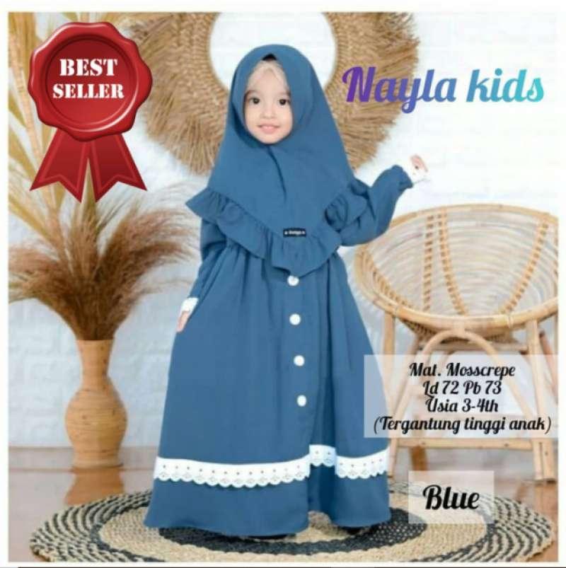 Jual Gamis Anak Usia 3 4 Tahun Baju Muslim Anak Perempuan Online Maret 2021 Blibli