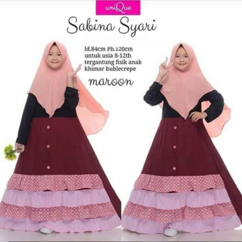Jual Gamis Anak Usia 8 12 Thn Baju Muslim Anak Perempuan Syari Online Maret 2021 Blibli
