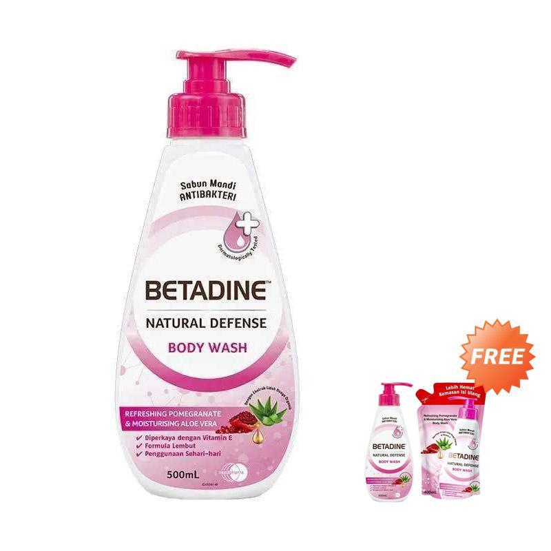 Buy 1 Get 2 Free Buy WHS BETADINE Pomegranate Body Wash 500 mL Free Pomegranate Body Wash 500 mL 400 mL