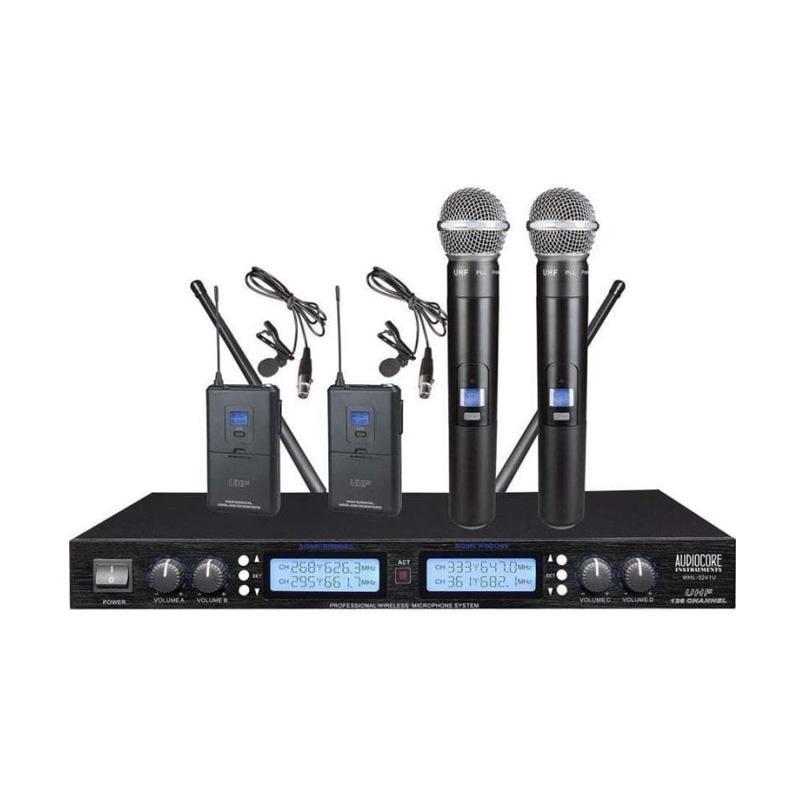 harga Audiocore WHL-3241U Wireless Microphone Blibli.com