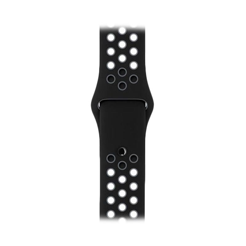 LOLLYPOP Strap Nike Sports Band for Apple Watch 38mm - Black Grey