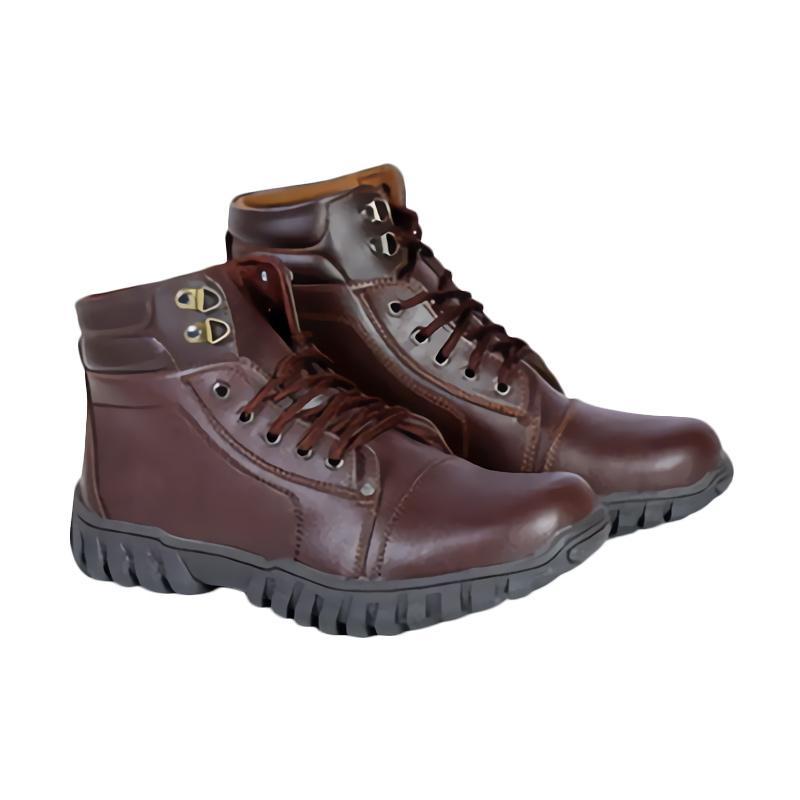 Spiccato SP 543.07 Boots Sepatu Pria - Coklat
