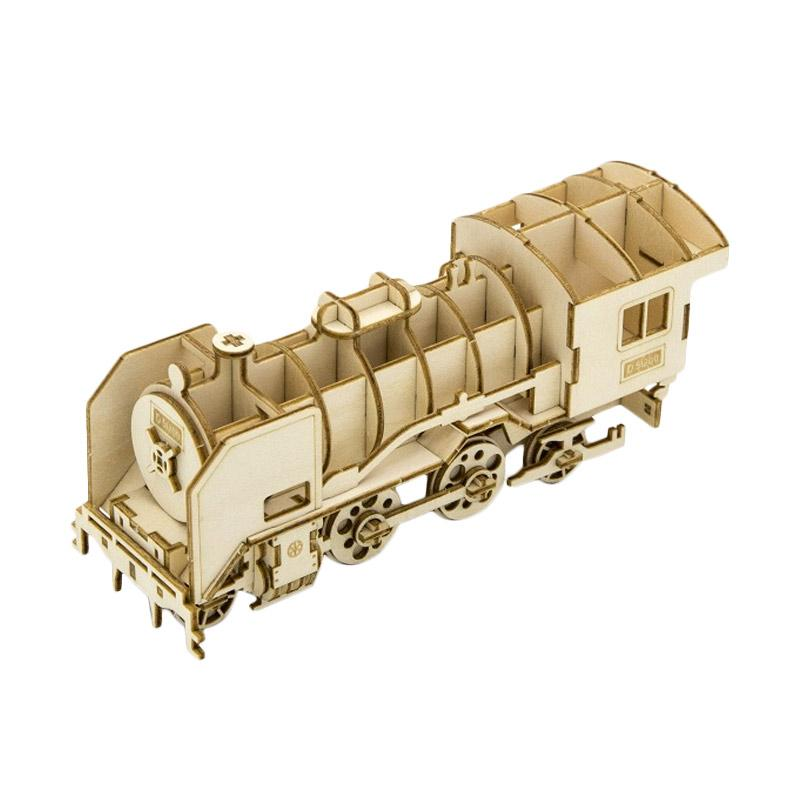 Kigumi Steam Locomotive 3D Puzzle
