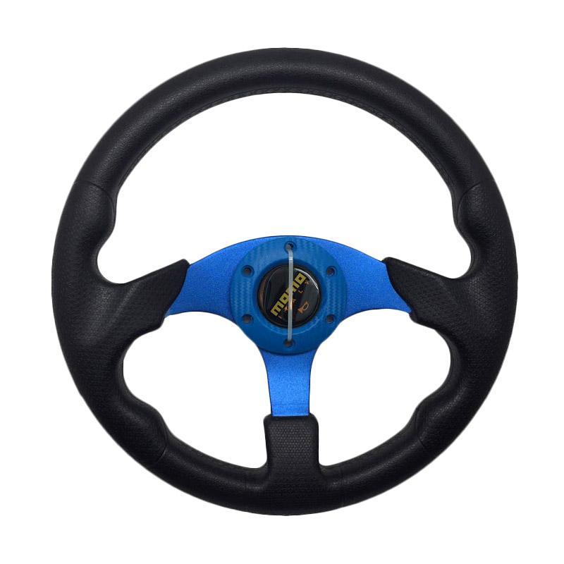 harga R4 Momo 8907 Racing Modifikasi Setir Mobil - Blue [13 Inch] Blibli.com
