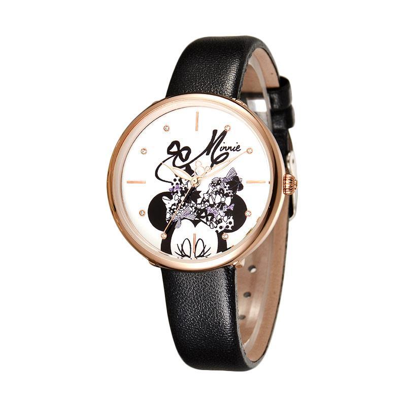 Disney MS11066-B Minnie Jam Tangan Wanita - Hitam