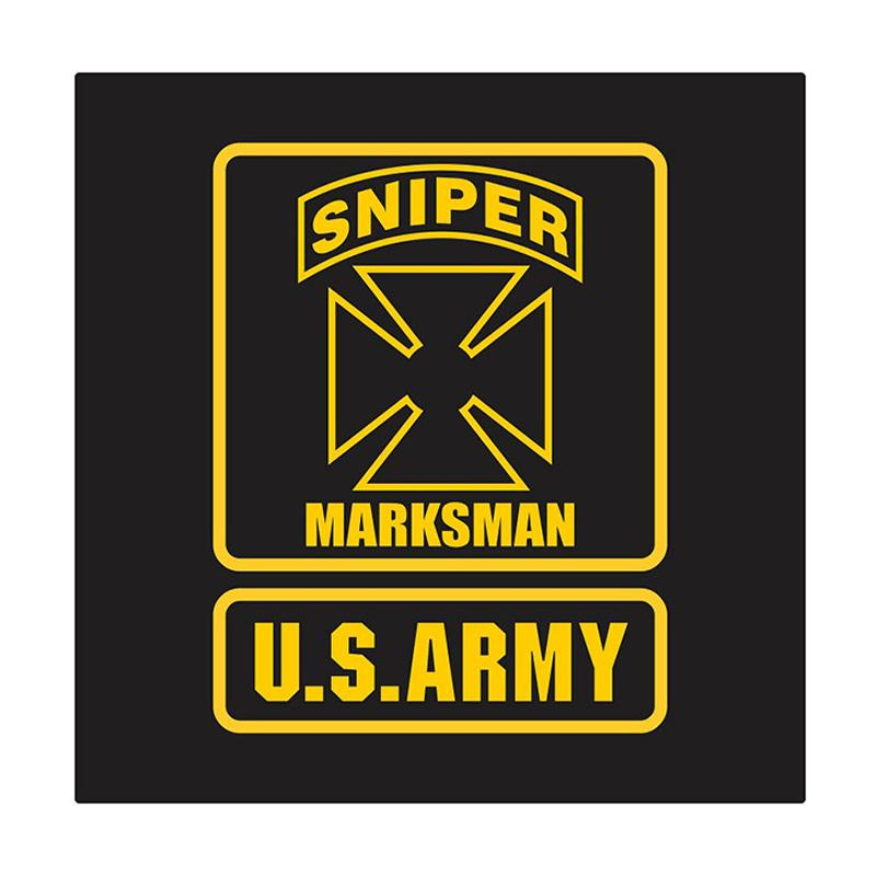 US Army Sniper Marksman Cutting Sticker