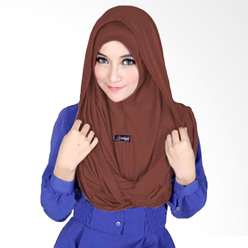 Milyarda Hijab Sosor Twist Kerudung - Coklat