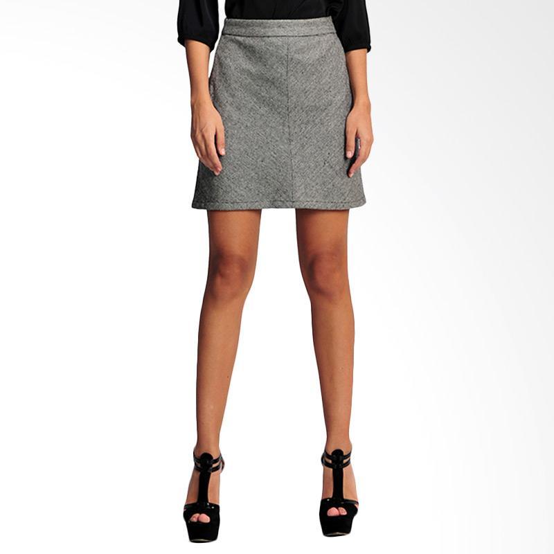 SJO & SIMPAPLY Horizonband Women's Skirt - Grey