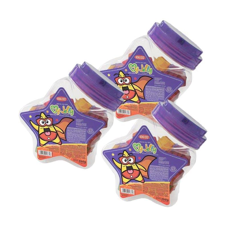 Wong Coco My Jelly Toples Bintang [3 pcs]