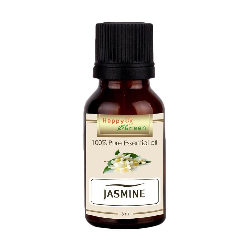 HAPPY GREEN Jasmine Essential Oil [5 mL]