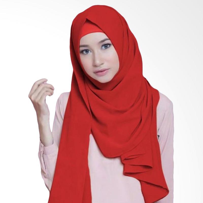 Kus Group Hijab Diamond Pashmina - Merah