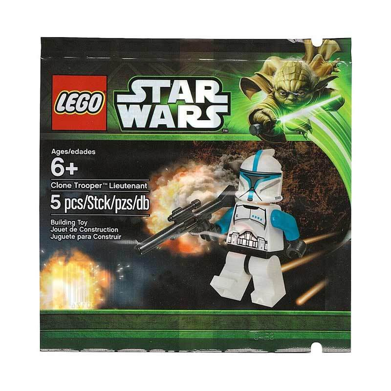 LEGO 5001709 Star Wars Clone Trooper Lieutenant Mainan Block & Puzzle