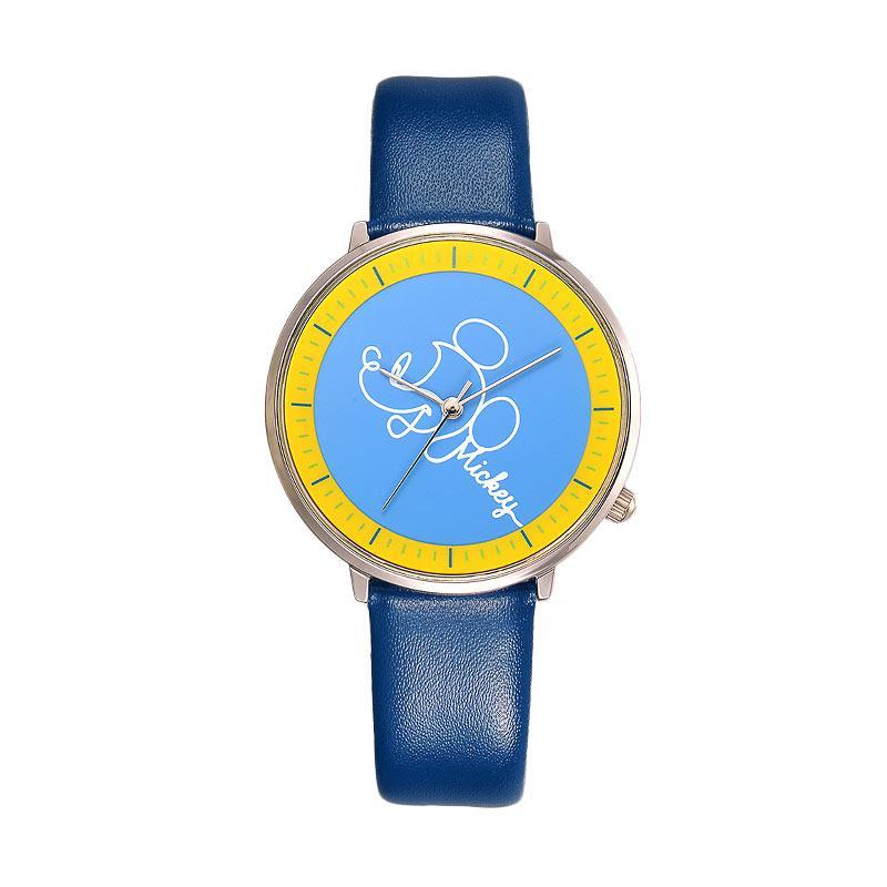 Disney MS11049-L Mickey Jam Tangan Wanita - Biru
