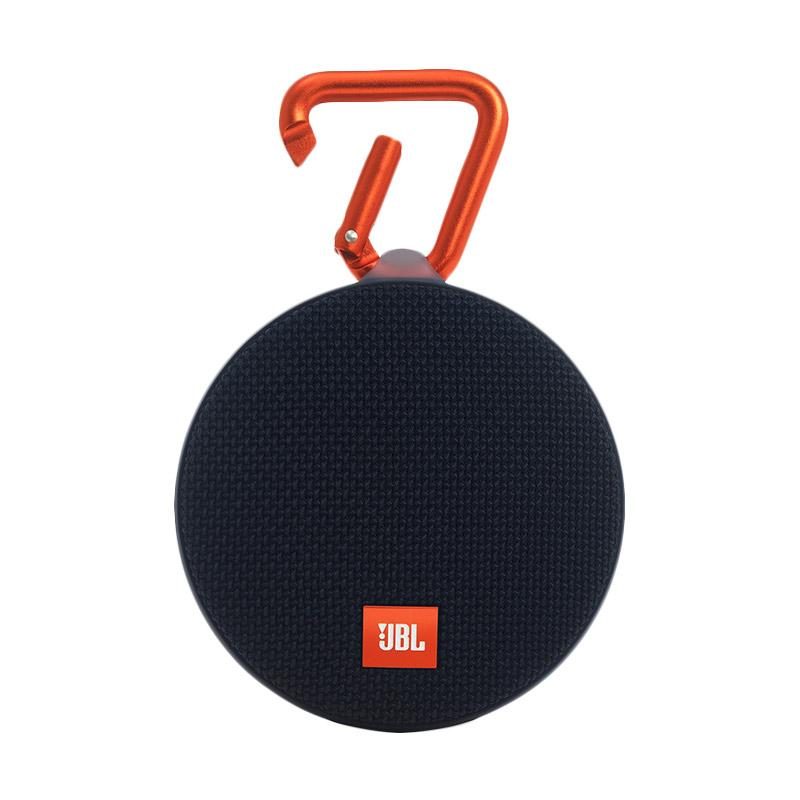 JBL Clip 2 Waterproof Bluetooth Speaker - Hitam