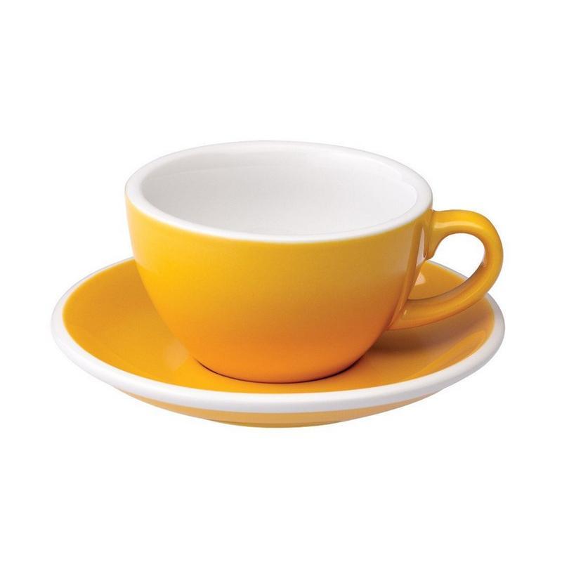 Loveramics Egg Cappuccino Cup & Saucer - Yellow [200 mL]