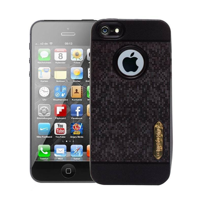Motomo Softcase Casing for iPhone 5G - Black