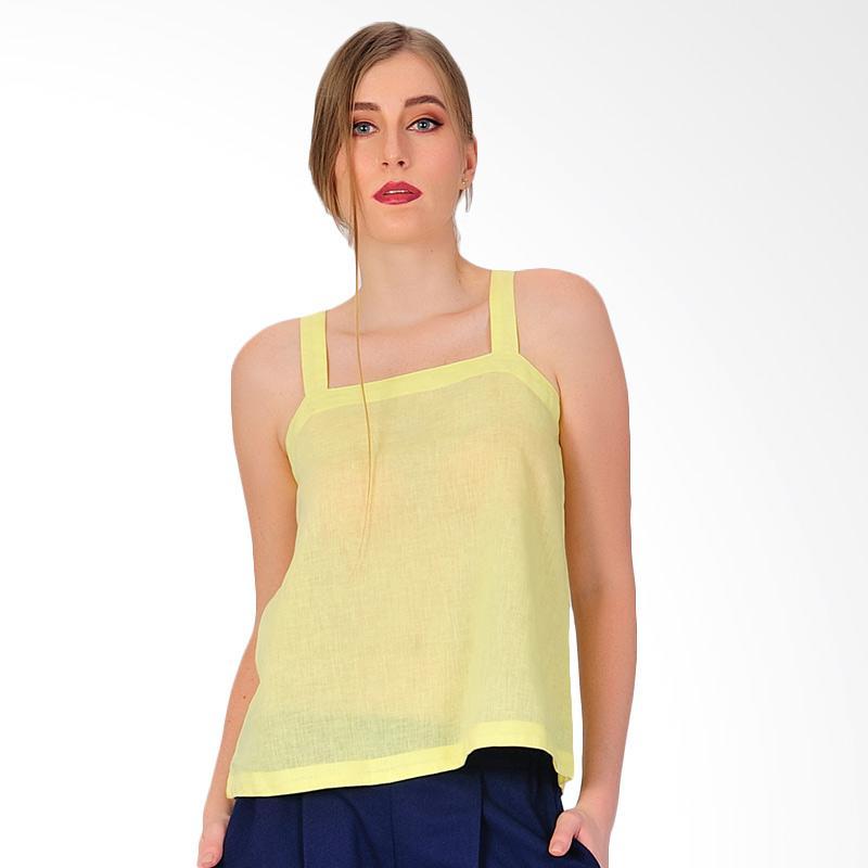 SJO&SIMPAPLY Brunet Women's Tank Top - Yellow