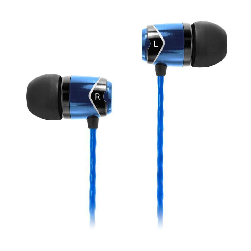 SoundMAGIC SM E10 Earphone - Black Blue