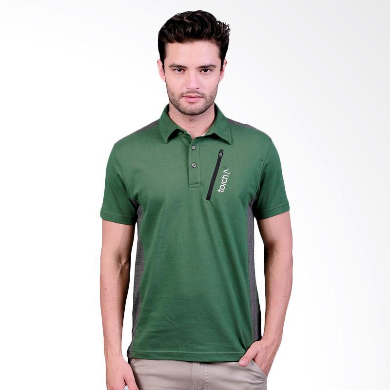 Torch Seri Hoxton Polo Shirt Pria - Green Extra diskon 7% setiap hari Extra diskon 5% setiap hari Citibank – lebih hemat 10%