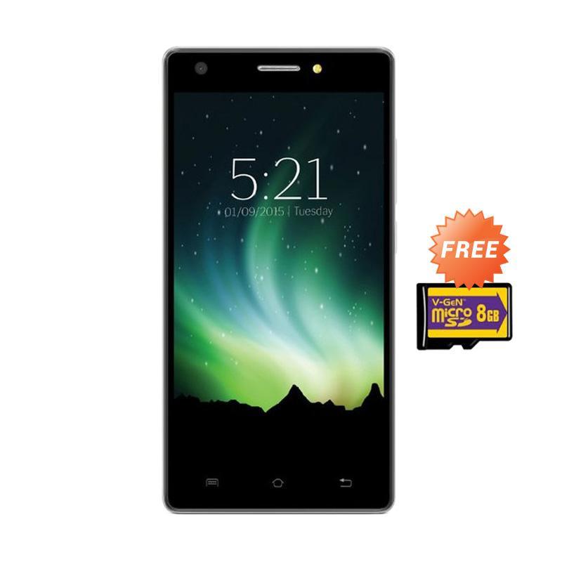 harga Lava Pixel V2 Plus Smartphone - Hitam [16GB/ 2GB] + Free Memory Card 8GB Blibli.com