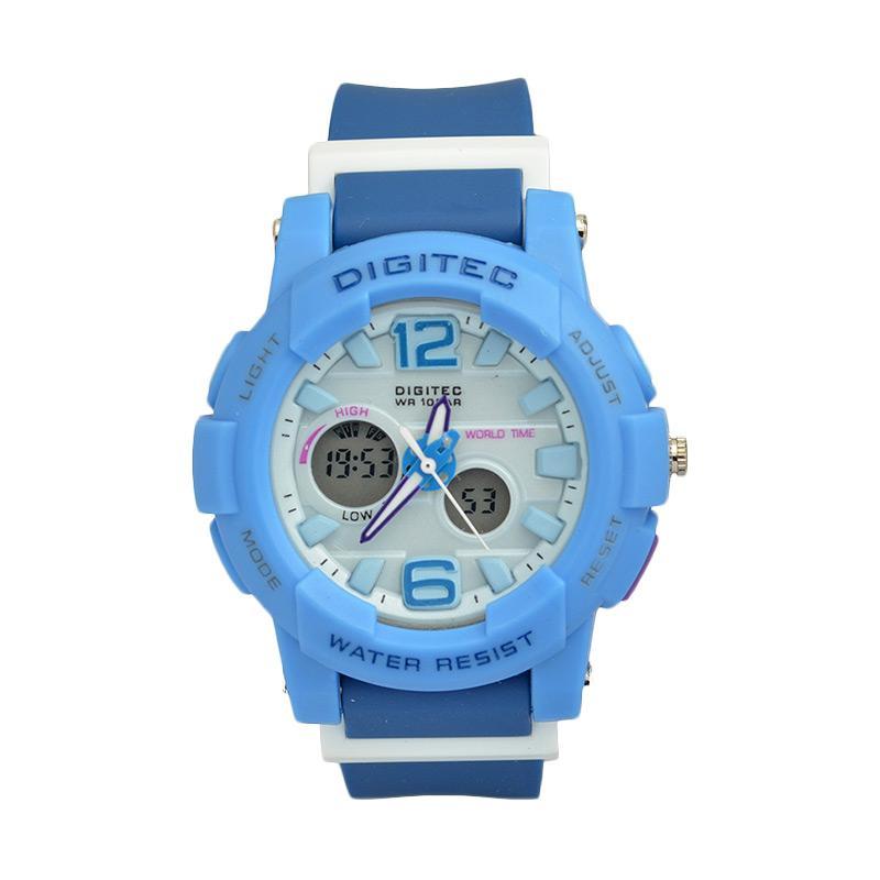 Digitec DG2073BL Sporty Jam Tangan Wanita - Blue