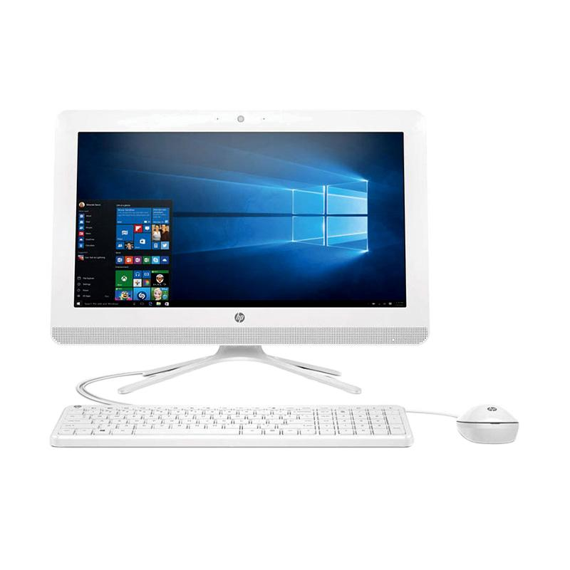 HP 20-C005D PC All In One - Putih [AMD E2-7110/ 4GB/ 500GB/ 19.45 Inch/ Windows 10]