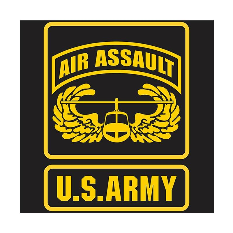 US Army Air Assault Wing Cutting Sticker