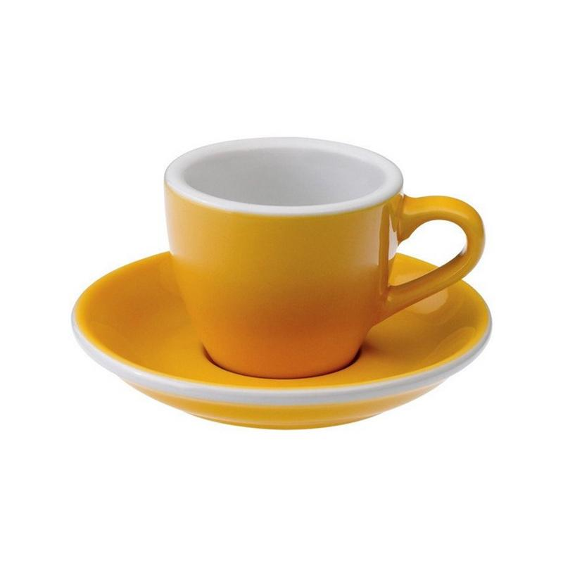 Loveramics Egg Espresso Cup & Saucer - Yellow [80 mL]