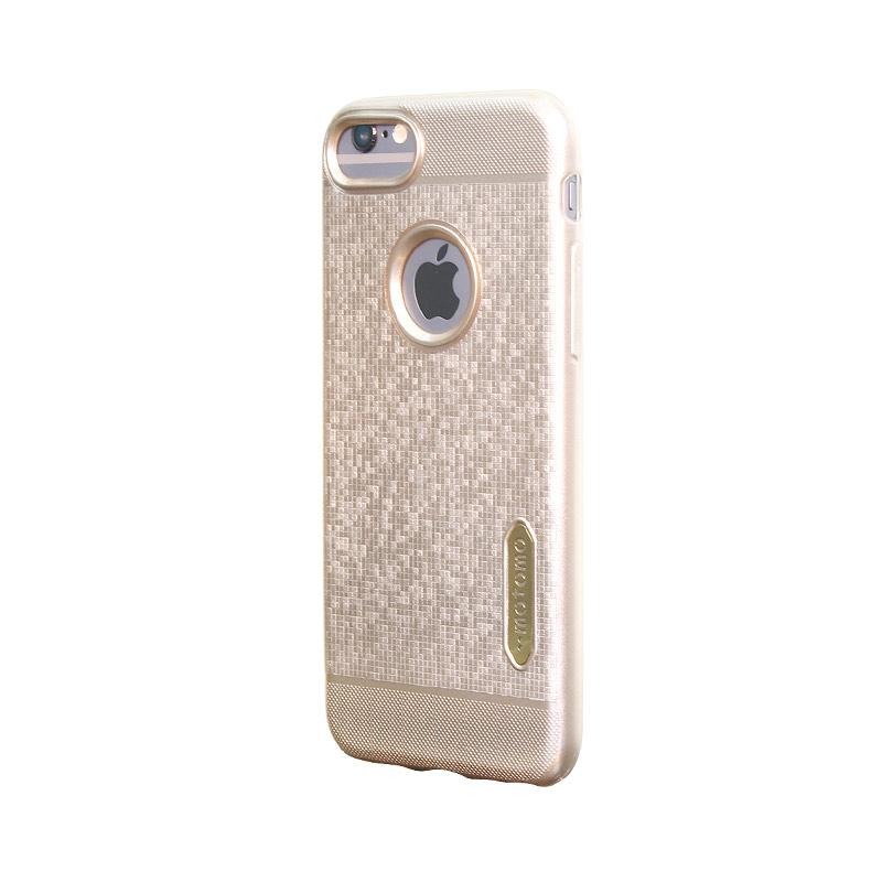 Motomo Softcase Casing for iPhone 7G - Gold