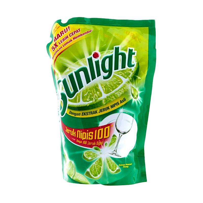 Sunlight Lime Reffil Sabun Cuci Cair [800 mL]