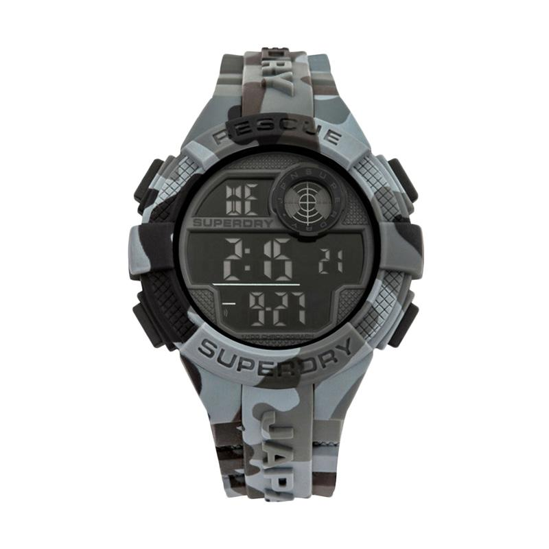 Superdry SYG193BE Jam Tangan Pria - Grey