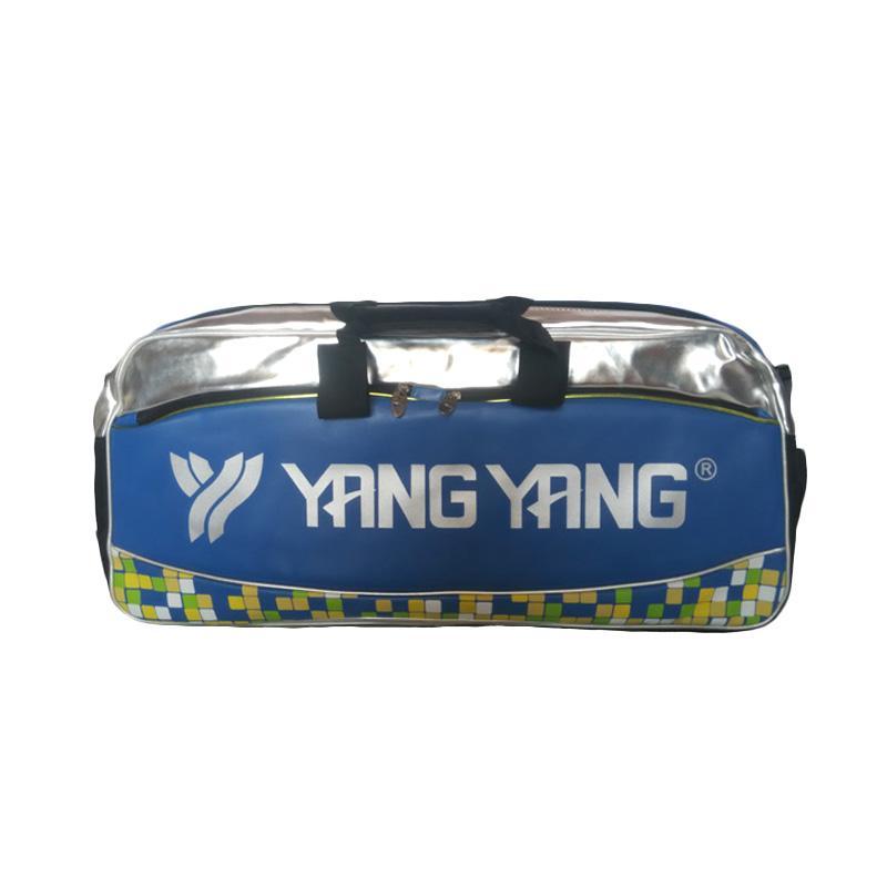 Rekomendasi Seller - Yang Yang 3 Compartments Tas Badminton - Blue