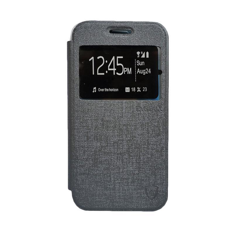Zagbox Flip Cover Samsung Galaxy A5 - Abu-abu
