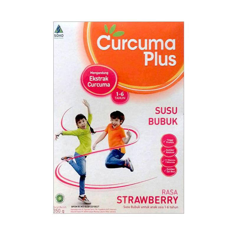 Curcuma Plus Susu Rasa Strawberry [350 g]