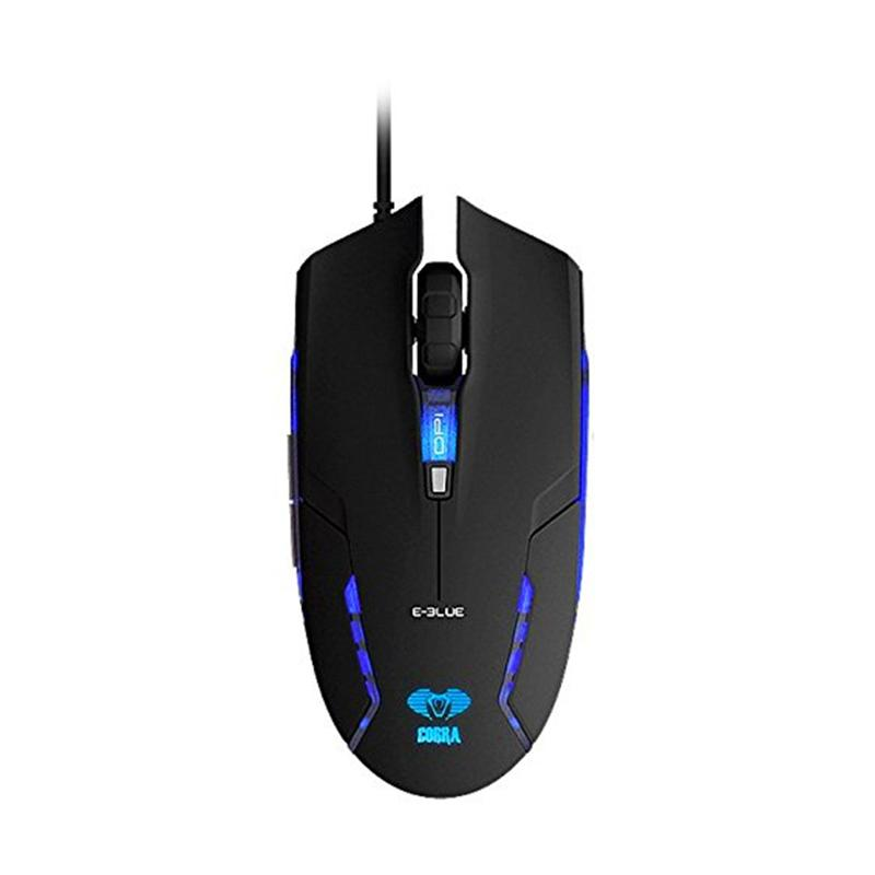 E-Blue EMS151BK Junior II Cobra Gaming Mouse - Black - 9289771 , 15458766 , 337_15458766 , 286000 , E-Blue-EMS151BK-Junior-II-Cobra-Gaming-Mouse-Black-337_15458766 , blibli.com , E-Blue EMS151BK Junior II Cobra Gaming Mouse - Black