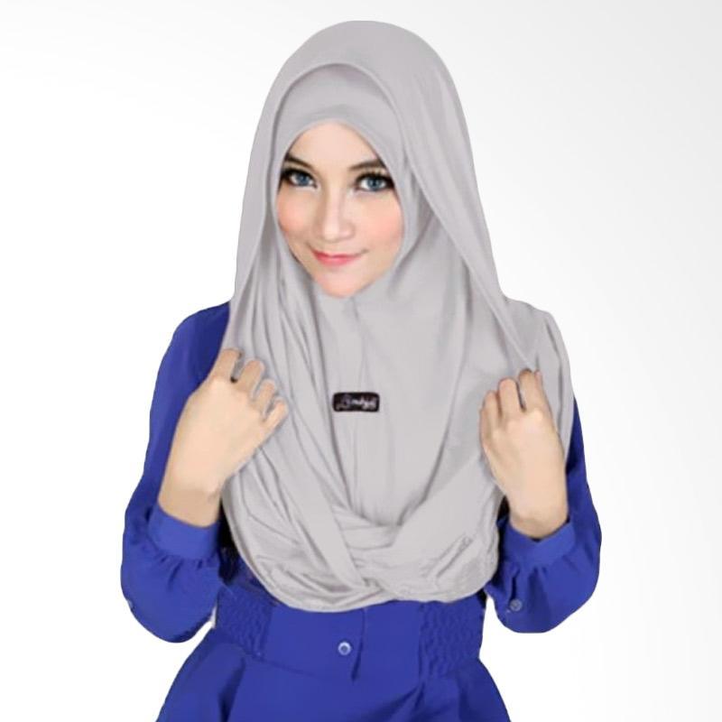 Kus Group Sosor Twist Hijab - Abu-abu