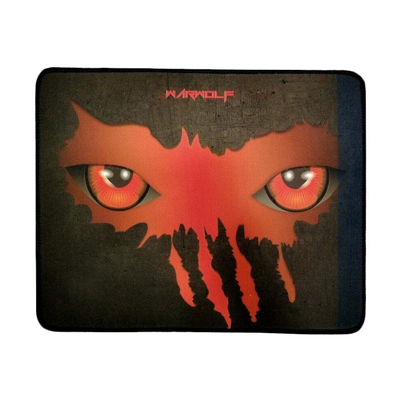 Warwolf Large Mata Gaming Mouse Pad - Merah