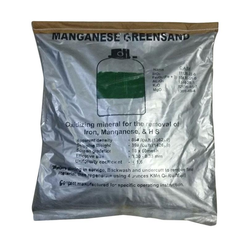 Blue Gold Manganese Green Sand Media Water Treatment Perlengkapan Saluran Air