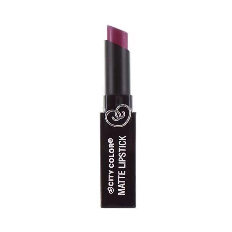 City Color Matte Lipstick - Eggplaint