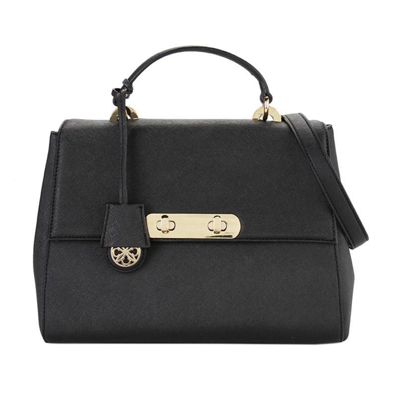 Les Catino Tibia Top Handle M Hand Bags - Black