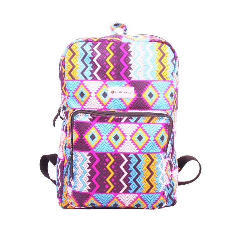 Luiperd Daily Backpack BBP.55 Tas Wanita - Pink