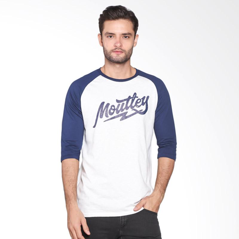 Moutley Basic Printed Casual Tee 307041712 - Blue